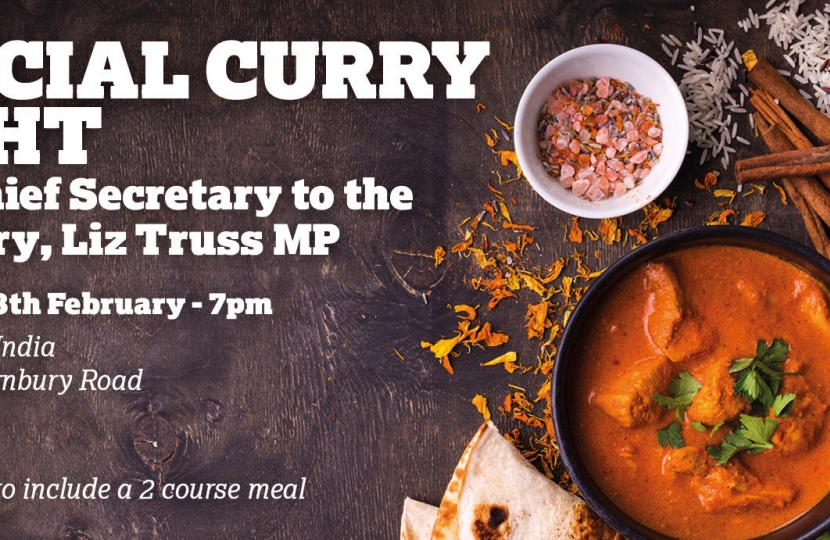 Brentford & Isleworth Conservative Association Curry Night