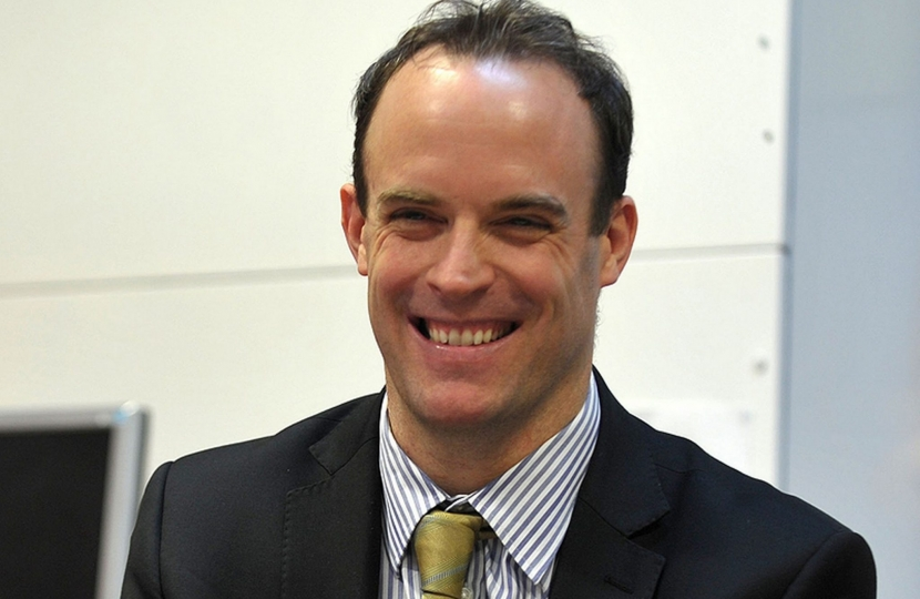 Dominic Raab, MP and Minister of State for Housing